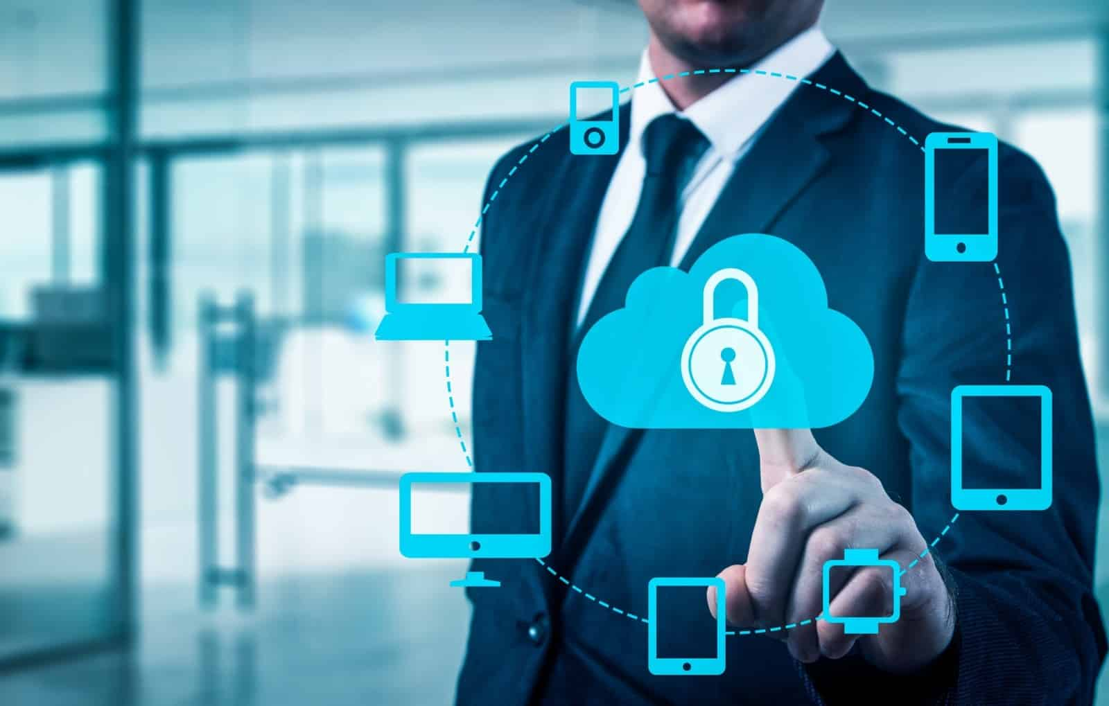 Protect Cloud Information Data Concept. Security And Safety Of Cloud Data | ITque