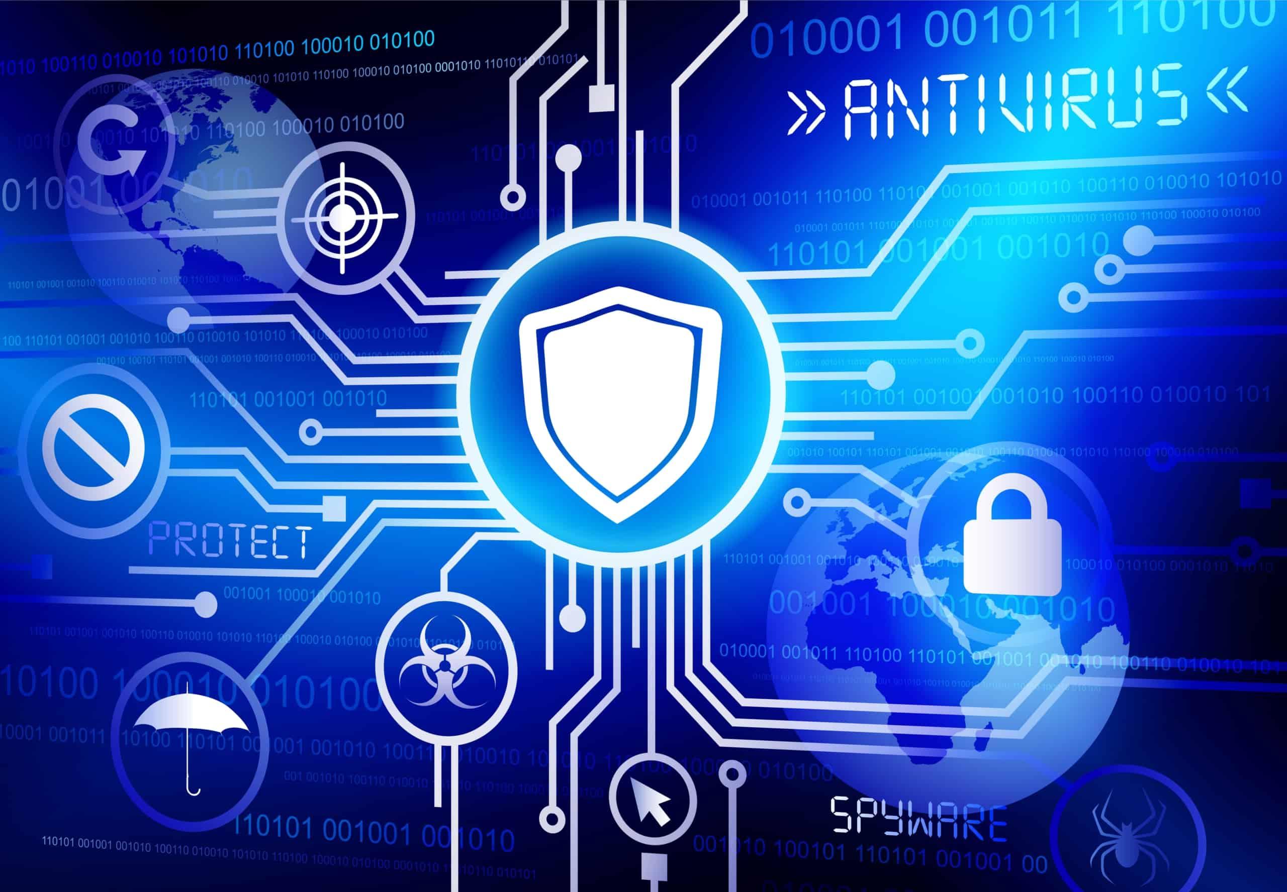 Antivirus Shield Vector | ITque